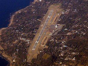 Izu Islands - Oshima Airport.