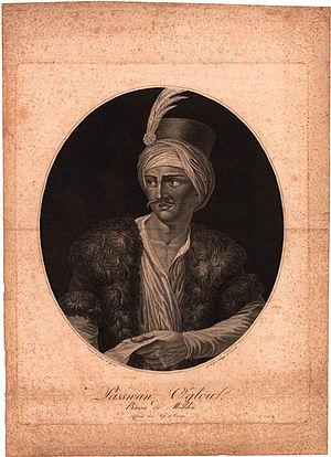 Osman Pazvantoğlu - Portrait