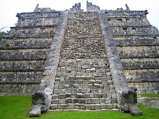 Ossuary stairs