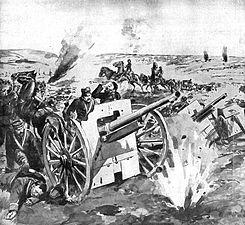 Ostanki razbite italijanske artiljerije med begom.jpg