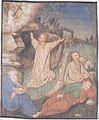 Oswalt Kreusel - Millstätter Fastentuch - Jesus am Ölberg.jpeg