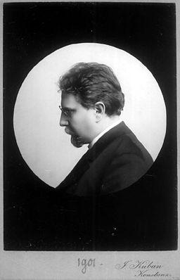 Otto Erich Hartleben Portraet