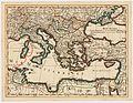 Ottoman Empire 1696 by Jaillot (Particolare del Mar Mediterraneo con il tracciato dell'Impresa di Bona).jpg