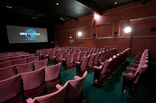 Foto de una sala de cine
