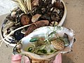 Oysters, green strawberries, dill (26633263853).jpg