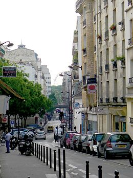 Image illustrative de l'article Rue Claude-Decaen