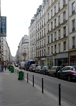 Image illustrative de l'article Rue Sedaine