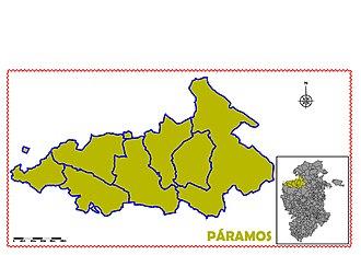 Páramos (comarca) - Image: PARAMOS
