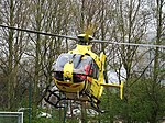 PH-MAA ANWB Medical Air Assistance Eurocopter EC135 at Hoofddorp pic 9.JPG