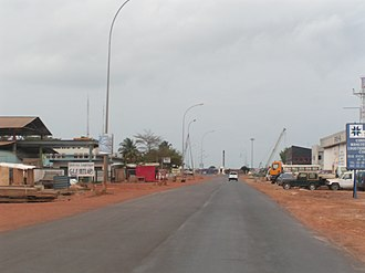 Port-Gentil - Image: POG Street 3