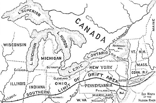 PSM V13 D676 Old drainage of the great lakes basin.jpg