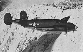 Lockheed Ventura - A PV-2 Harpoon in flight in 1945