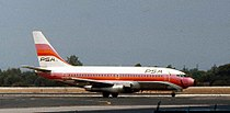 Pacific Southwest Airlines B-737 N379PS.jpg