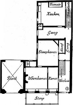 Pagehuis Den Haag ground floor plan before restoration.jpg