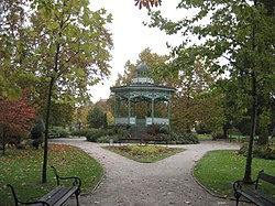 Pagode im Stadtpark von Koprivnica.JPG