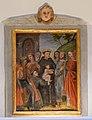 Painting of Saint Antony infant and father N 3 San Antone church Urtijëi.jpg