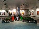 Paintings gallery, Hyderabad airport.jpg