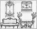 Palais-Royal rooms for the Duchess of Orléans - Decorative elements for the Salon, and Audience Chamber - Diderot's Encyclopédie - Dover reprint 1995.jpg