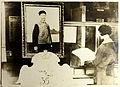 Palais Mondial. Le portrait de Meur Lou, donateur de l'Encyclopédie Chinoise dans la section de la Civilisation Chinoise.jpg