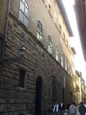 Palazzo degli Alessandri - The facade of the palace