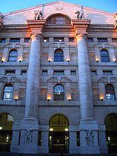 Palazzo Mezzanotte, sede della Borsa Italiana