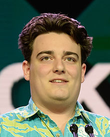 Palmer Luckey at GDC 2016 (25825558676) (cropped).jpg