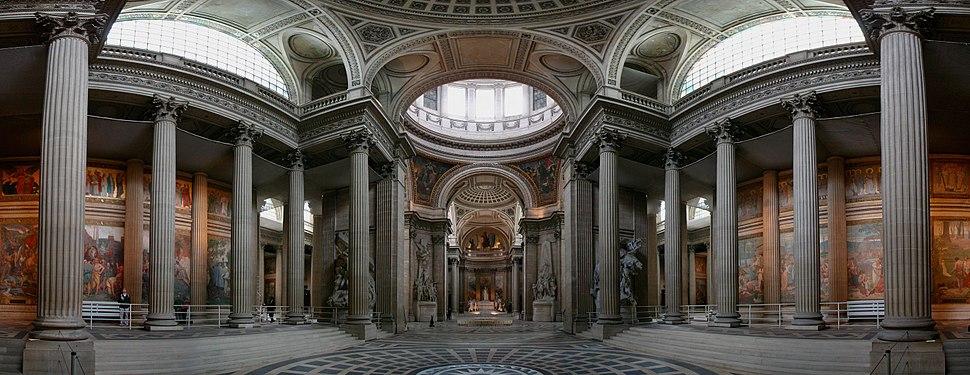 Pantheon wider centered