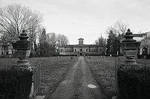 Villa Malvezzi Campeggi a Bagnarola. Foto di Paolo Monti, 1965