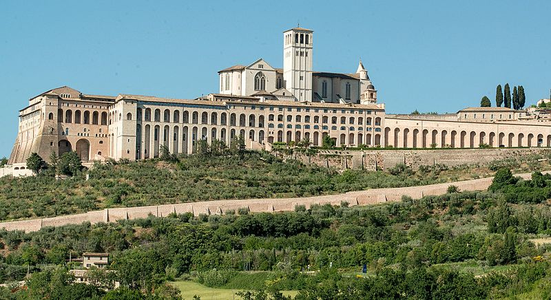 File:Papal Basilica of Saint Francis of Assisi.jpg