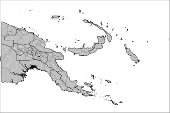 Districts and LLGs of Papua New Guinea Wikipedia