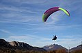 Paragliding with a child, Haute-Savoie, France, 2.jpg