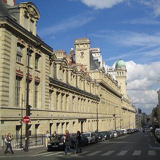 University of Paris - Rue Saint-Jacques and the Sorbonne in Paris