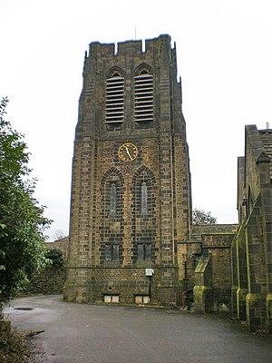 Northowram - Image: Parish Church of St Matthew's, Northowram, Tower geograph.org.uk 1115863