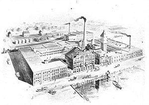 River Place - Parke-Davis Laboratories, c. 1891