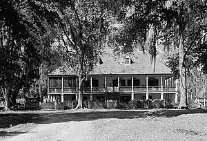 Parlange Plantation House - Parlange Plantation House, 1936 HABS photo