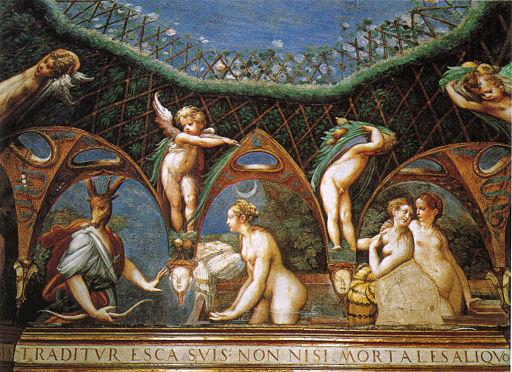 Parmigianino, affreschi di fontanellato 02