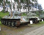 Parola Tank Museum 096 - T34-85 (38538665452).jpg