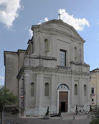 San Felice del Benaco - Image: Parrocchiale San Felice del Benaco facciata