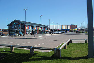 Partington - Partington shopping centre