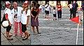 Partita di Golf in piazza del Plebiscito, Napoli - Performance di Augusto De Luca.jpg