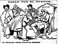 Pasan por el puente, de Tovar, El Liberal, 10 de abril de 1910.jpg