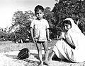 Patients coming to Satbarwa Hospital, Bihar, India, 1963 (16324966183).jpg