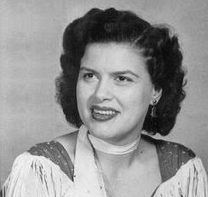 Patsy Cline - Cline at 4 Star Records in March 1957