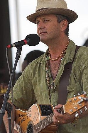 Paul Sanchez - Paul Sanchez at Mid-City Bayou Boogaloo, 2008