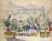 Paul Cézanne - The Terrace at the Garden at Les Lauves - Google Art Project.jpg