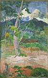 Paul Gauguin - Landscape with a Horse.jpg