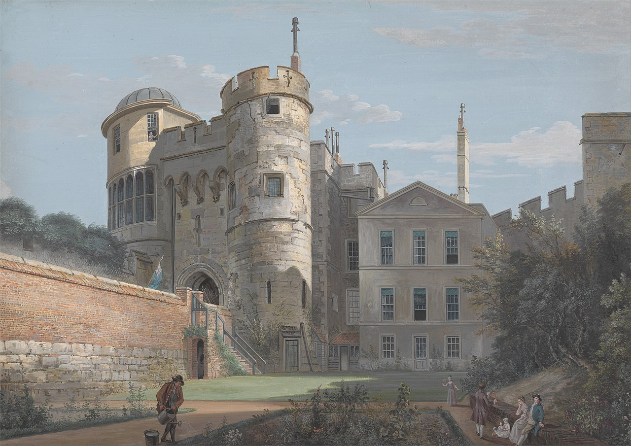 Paul Sandby - The Norman Gate and Deputy Governor's House - Google Art Project.jpg