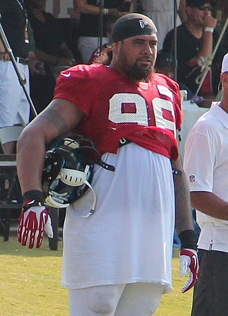 Paul Soliai - Soliai with the Falcons in 2014.