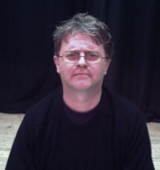 Paul Merton - Merton at Ely Maltings in 2007, after giving a talk on his book Silent Comedy