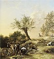 Paulus Potter - Spring Landscape with Donkeys and Goats 6688.jpg